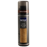Woly Suede & Nubuck Liquid Renovator Med Brown 75ml