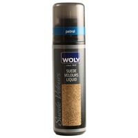 Woly Suede Velours Liquid Renovator Petrol 75ml
