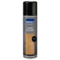Woly Suede & Nubuck Renovating Spray, Black 250ml