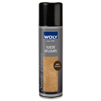 Woly Suede & Nubuck Renovating Spray, Dark Brown 250ml