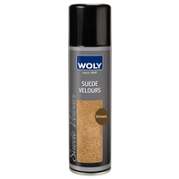 Woly Suede & Nubuck Renovating Spray, Med Brown 250ml