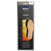 Woly Comfort Leather Insole Size 9 E43