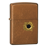 Zippo Toffee Lighter BS Bullet Hole