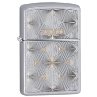 Zippo Satin Chrome Lighter