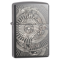 Zippo Black Ice Lighter