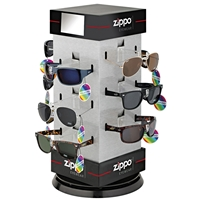 Zippo 12 Piece Polarised Sunglasses Pre-Pack Display (24x24x45cm)