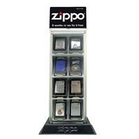 Zippo 142145 8 Piece Counter Top Display