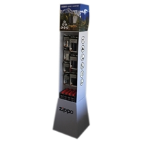 Zippo 200320 Cardboard Self Assemble Tower Display
