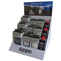 Zippo 200321 Cardboard Self Assemble Countertop Display