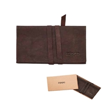 Zippo Leather, Bi-Fold Tobacco Pouch, Brown, 2005124
