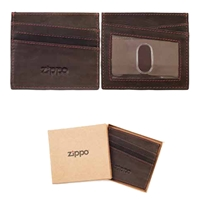 Zippo Leather, Credit Card Holder, Mocca, 2005127