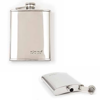 Zippo Hip Flask, Polished Stainless Steel, 6oz, 2005268