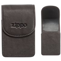 Zippo Leather Cigarette Case, Mocha (Holds A Standard Pack Of 20 Cigarettes)