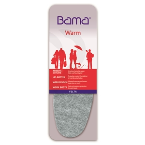 Bama Felta Warm Insoles, Ladies Size 6, Euro 39