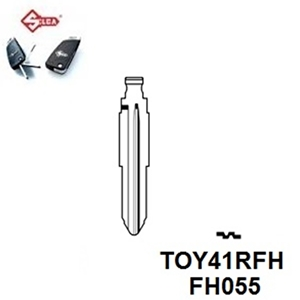 Silca TOY41RFH. Flip Head Key Blade