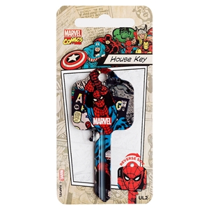 Licensed Keys - Spider Man Silca Ref UL054