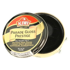 Kiwi Parade Gloss Black 50ml Premium Wax Shoe Polish
