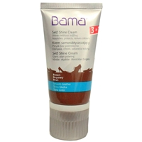 Bama Self Shine Cream Tube with Applicator Sponge Mid Brown 32 50ml