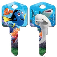 Licensed Keys Finding Dory Disney Silca Ref UL054