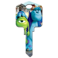 Licensed Keys Mike And Sully Disney Silca Ref UL054