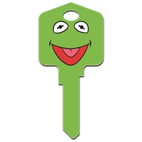 Licensed Keys Kermit & Miss Piggy Disney Silca Ref UL054