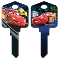 Licensed Keys Lightning Mcqueen Disney Silca Ref UL054
