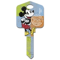 Licensed Keys Mickey Mouse1928 Disney Silca Ref UL054