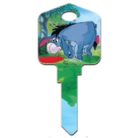 Licensed Keys Eeyore Disney Silca Ref UL054