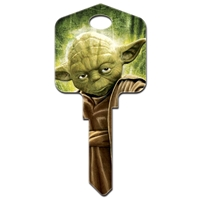 Licensed Keys Yoda Star Wars Silca Ref UL054