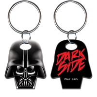 Licensed Key Ring Star Wars Darth Vadar Dark Side