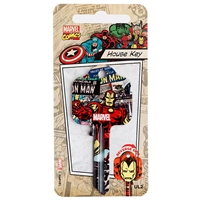 Licensed Keys - Iron Man Silca Ref UL054