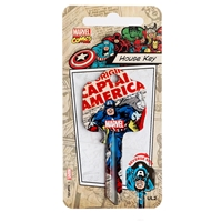 Licensed Keys - Captain America Silca Ref UL054