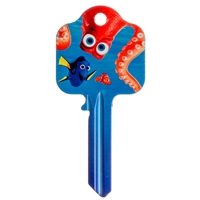Licensed Keys - Finding Dory Hank, Silca Ref UL054