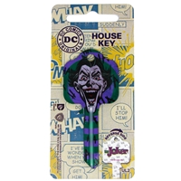 Licensed Keys - The Joker Silca Ref UL054