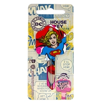 Licensed Keys - Supergirl Silca Ref UL054
