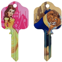 Licensed Keys - Beauty & The Beast (Silca Ref. UL054)