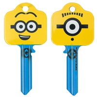 Licensed Keys - Minion Goggles - Silca Ref UL054