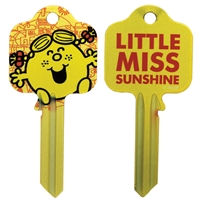 Licensed Keys - Little Miss Sunshine Silca Ref UL054