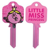 Licensed Keys - Little Miss Princess Silca Ref UL054