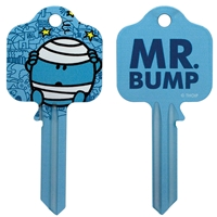 Licensed Keys - Mr Bump Silca Ref UL054
