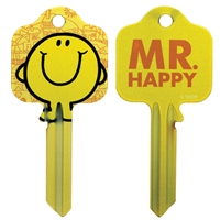 Licensed Keys - Mr Happy Silca Ref UL054
