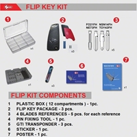 Silca Flip Keys Kit