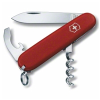 Swiss Army Knife Waiter, Red