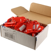 Key Labels Red (Box Of 100)