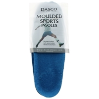 Dasco Moulded Sport Insoles Dual Sizes 8 to 9
