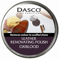 Dasco Renovating Shoe Polish Burgundy Ox Blood
