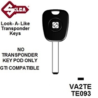 Silca VA2TE - Peugeot Transponder (Without Chip)
