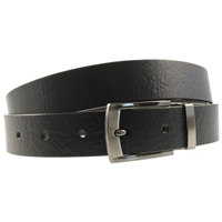 Birch Quality Leather Belt 26mm Large (36-40 Inch) Full Grain Black