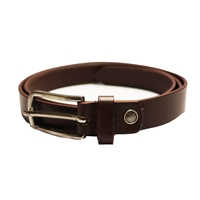 Birch Full Grain Leather Belt Smooth Finish 26mm Brown EX Large (40-44 Inch)