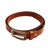 Birch Full Grain Leather Belt Smooth Finish 26mm Tan EX Large (40-44 Inch)